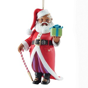 Ebony Visions-Mr Claus 2013 Ornament