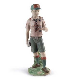 Lladro-Classic Scout