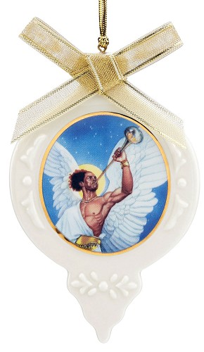 Ebony Visions-The Angel Gabriel Ornament