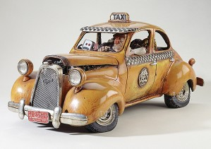 Guillermo Forchino-The Taxi