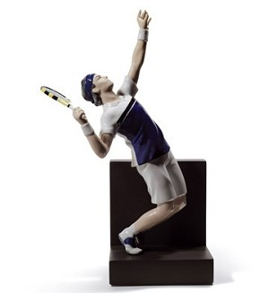Lladro-Tennis Ace
