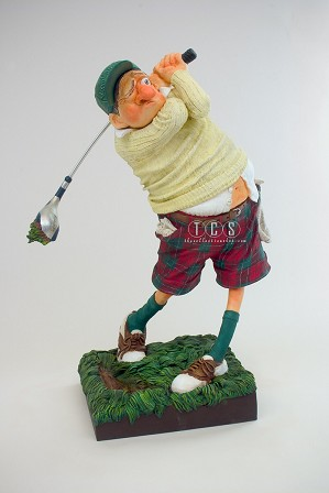 Guillermo Forchino-Fore (the Golfer) 1/2 Scale