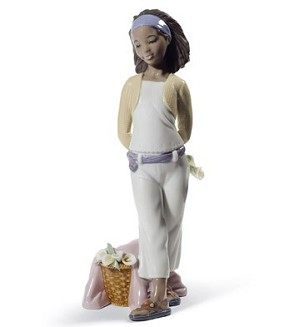 Lladro Black Legacy-A GIFT OF LILLIES