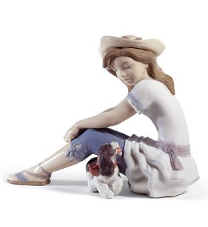 Lladro-My Playful Pet