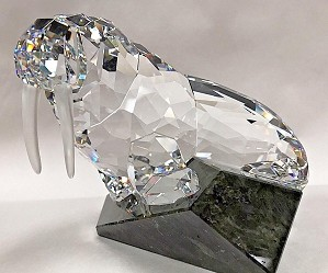 Swarovski Crystal-Soulmate Walrus