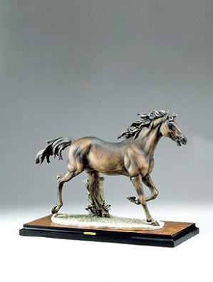Giuseppe Armani-Running Horse Artist Signed