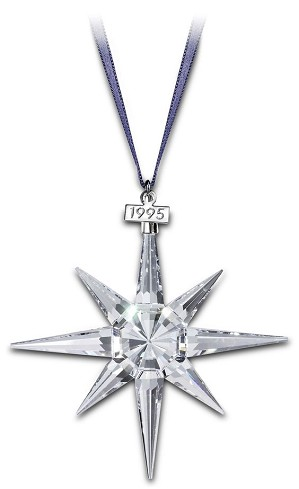 Swarovski-1995 Swarovski Star Ornament