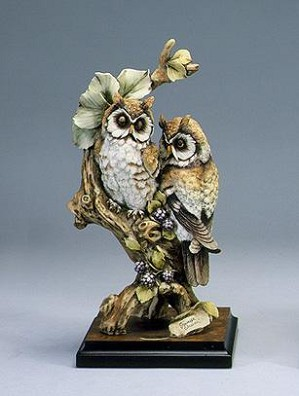 Giuseppe Armani-TWO OWLS