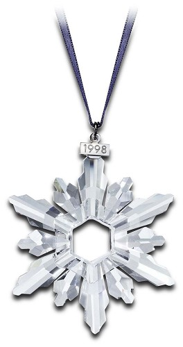 Swarovski-1998 Swarovski Snowflake Ornament