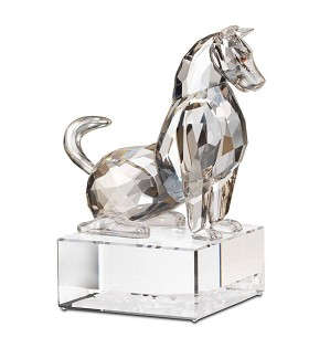 Swarovski Crystal-Chinese Zodiac - Dog-Clear