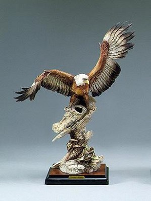 Giuseppe Armani-Eagle On Branch