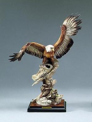 Giuseppe Armani-Eagle On Branch
