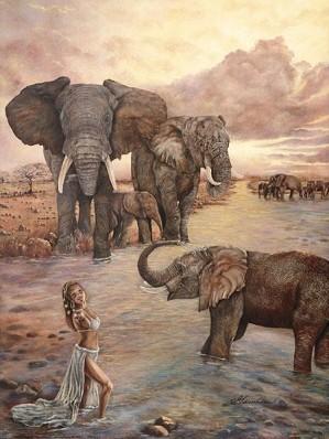 Gamboa-Dynasty II Giclee