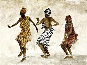 Gamboa-Dancers Giclee