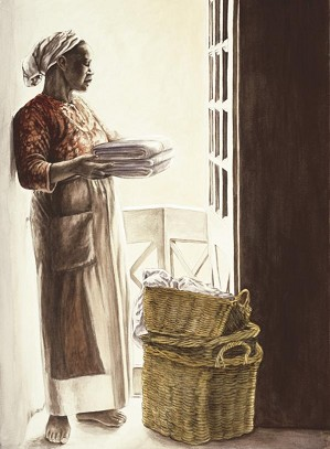 Gamboa-Lady By The Window