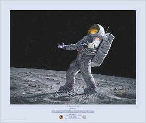 Alan Bean-Is Anyone Out There Limited Edition Masterwork