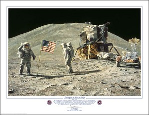 Alan Bean-Ceremony on the Plain at Hadley