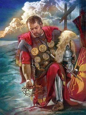 Nathan Greene-The Roman Centurion Studio Canvas Gicl�e
