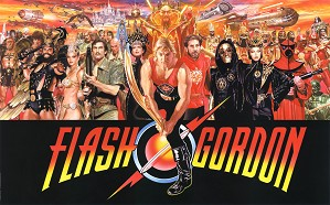 Alex Ross-Flash Gordon Magnificent 7 Series
