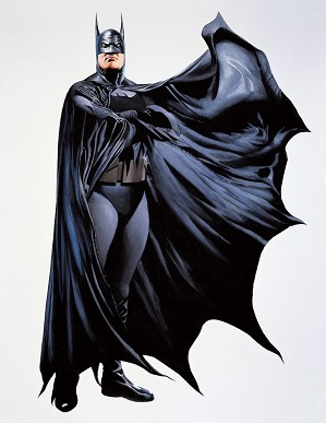 Alex Ross-HEROES BATMAN