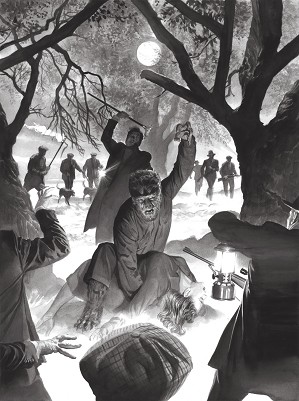 Alex Ross-Universal Monsters The Wolf Man