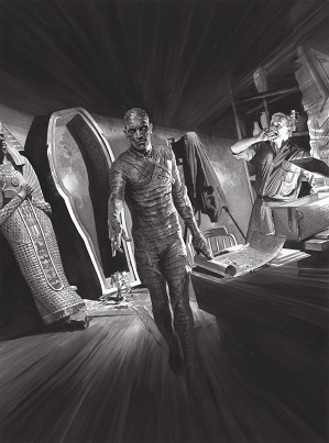 Alex Ross-Universal Monsters Mummy