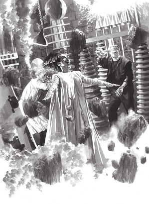 Alex Ross-Universal Monsters Bride of Frankenstein