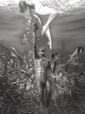 Alex Ross-Universal Monsters Creature from the Black Lagoon