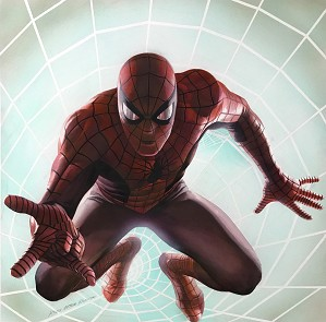 Alex Ross-SPIDER MAN ROCKOMIC