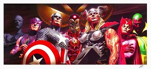 Alex Ross-Avengers Assemble Artist Proof No 10