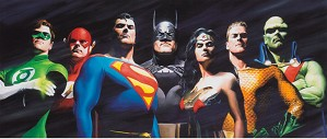 Alex Ross-ORIGINAL SEVEN  Artist Proof
