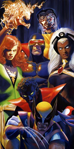 Alex Ross-THE X-MEN ARTIST PROOF