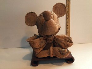 Giuseppe Armani-Original Mickey In Clay for Disneyana 1998