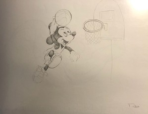 Giuseppe Armani-Original Concept Art for Disneyana Convention Mickey