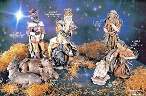 Giuseppe Armani-Nativity Set of 8 Matched Numbered Set