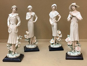 Giuseppe Armani-Ladies With Flowers Set