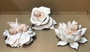Giuseppe Armani-Baby and Flower Set