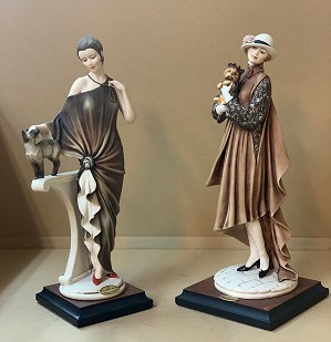 Giuseppe Armani-Ladies with Animals Set