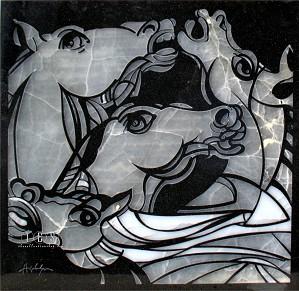 Leonardo Hildalgo-Wild Horses
