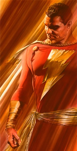 Alex Ross-SHADOWS SHAZAM