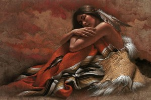 Lee Bogle-At Rest Artist Proof Hand Enhanced