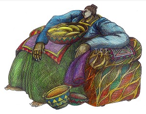 Charles Bibbs-Big Mama's Chair #2 Giclee