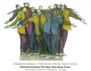 Charles Bibbs_The Boys From New York Special Artist Edition Remarque
