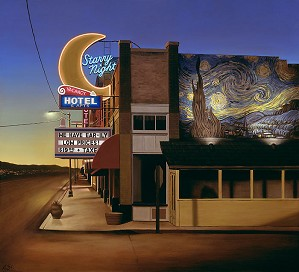 Ben Steele-Starry Night Hotel MASTERWORK EDITION ON