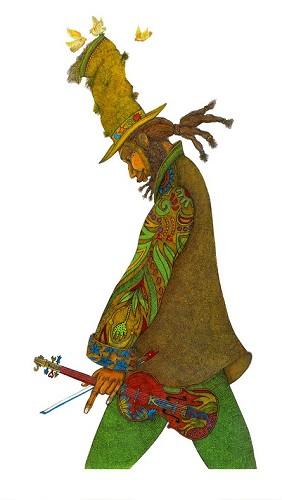 Charles Bibbs-The Bagman Fiddler Remarque