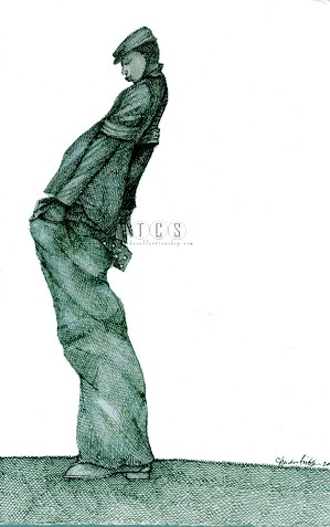 Charles Bibbs-Baggies Artist Proof Giclee Print