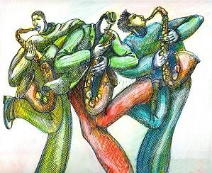 Charles Bibbs-Blow Sax