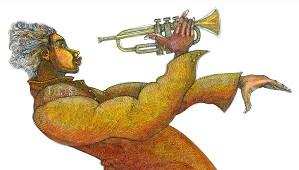 Charles Bibbs-Jazz Composition Giclee