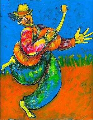Charles Bibbs-Joy Luck Girl