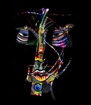 Charles Bibbs-Mask Number 5 Collaboration with Sabrina Gibson